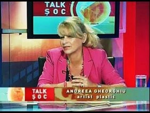 Painter Andreea Gheorghiu about ART at National TV24+