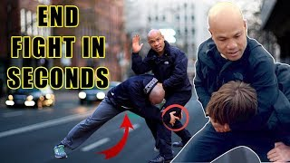 How to End a Fight in Seconds | Street fight