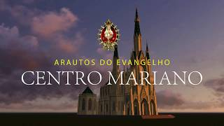 Architectural preview of the Marian Centre in Cuiabá