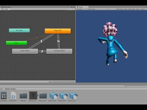 Mechanim & Mixamo in Unity 5: The Basic Basics!