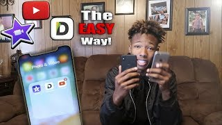 Make Youtube Videos / Reactions From Your Phone! | 3 EASY Apps to Use