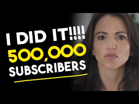 500,000 Subscribers!!! Marni Says THANK YOU & Has A Gift For You To Say THANKS (see description box)