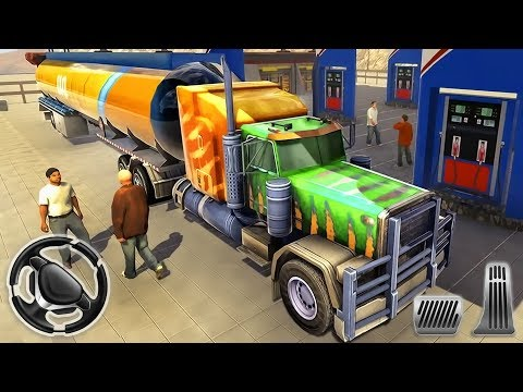Oil Trailer Heavy Tanker Transporter - Offroad Truck Driving   Android Gameplay