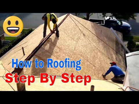 Step by Step Roof Replacement !