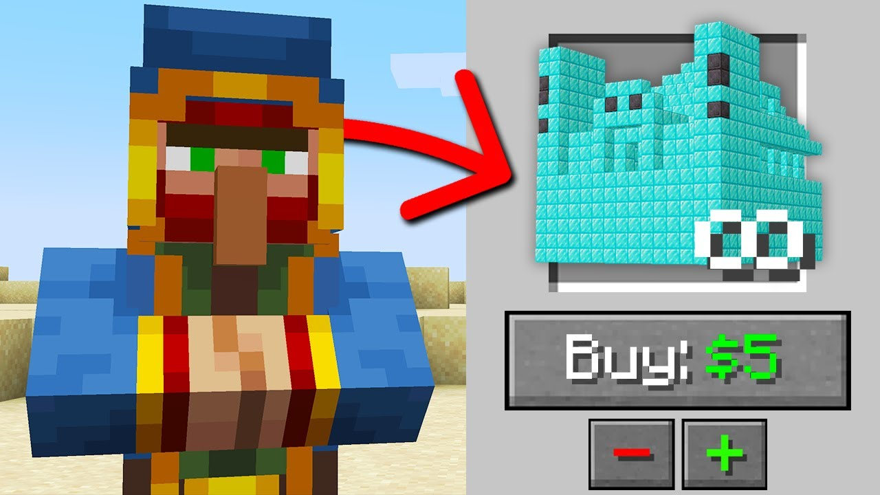 Minecraft, But You Can Buy Infinite Structures...