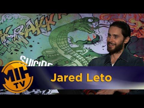 Jared Leto UNCENSORED Interview Suicide Squad