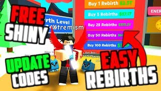 *UPDATE 6.5 CODES* EASY REBIRTH BOARD, FREE SHINY PETS IN ROBLOX MAGNET SIMULATOR