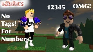 How to write Numbers without getting Tagged | Roblox