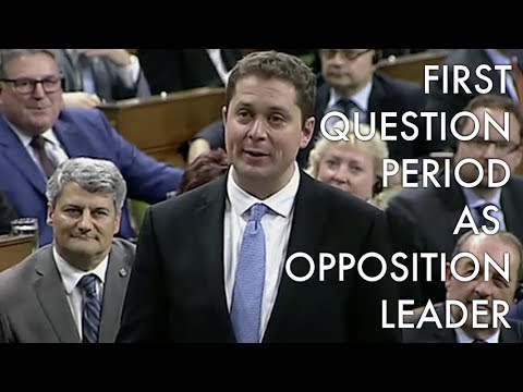 Andrew Scheer's first Question Period as Leader of the Opposition