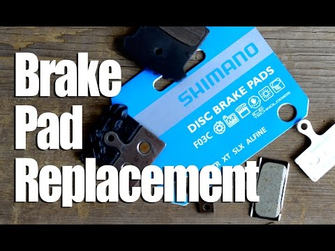 Shimano brake pads and replacement