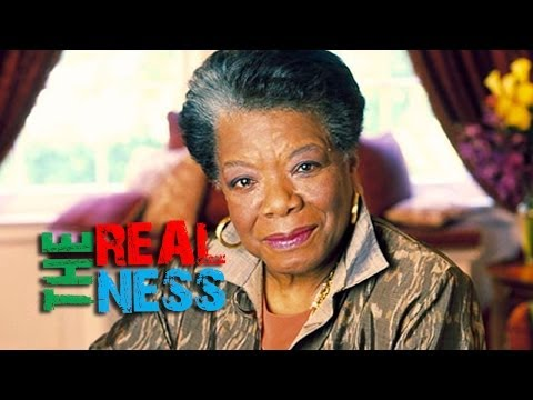 THE REALNESS: THOTS, Maya Angelou does not need your post