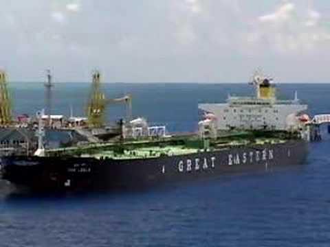 Great Eastern Tanker Unloading
