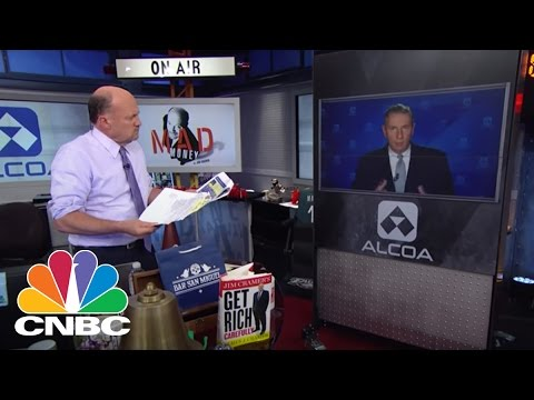 Alcoa CEO Klaus Kleinfeld: A View Of The New Alcoa | Mad Money | CNBC