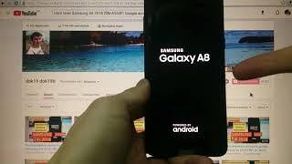 Hard reset Samsung A8 2018 Удаление пароля A530F Сброс настроек