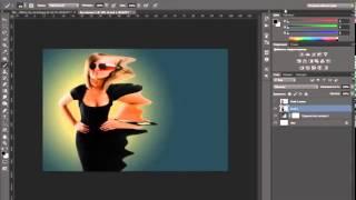 Уроки фотошопа  Эффект распада в фотошопе