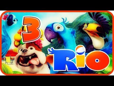 Rio Walkthrough Part 3 - Movie Party Game...