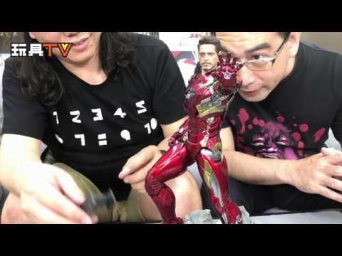 玩具TV S02 EP10 P2「爆玩具」Hot Toys 1:6 Ironman Mk46 Die-Cast action figure 鋼鐵俠 測評