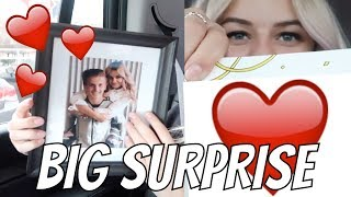 I SURPRISED HIM FOR HIS BIRTHDAY | THE LEROYS