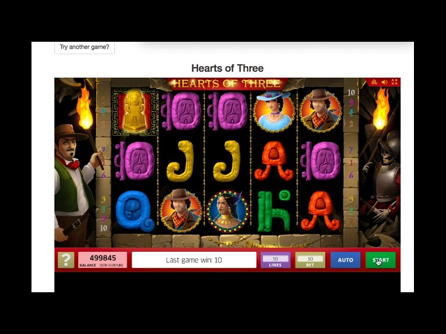 Hearts of Three from Inbet Games
