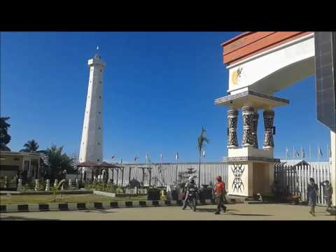 Menara Mercusuar  Border Post of Republic of Indonesia  RI PNG  di SKOW