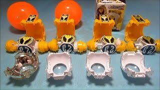 Kamen Rider Ghost Eyecon So sánh DX CandyToy và Gashapon 仮面ライダーゴースト アイコン