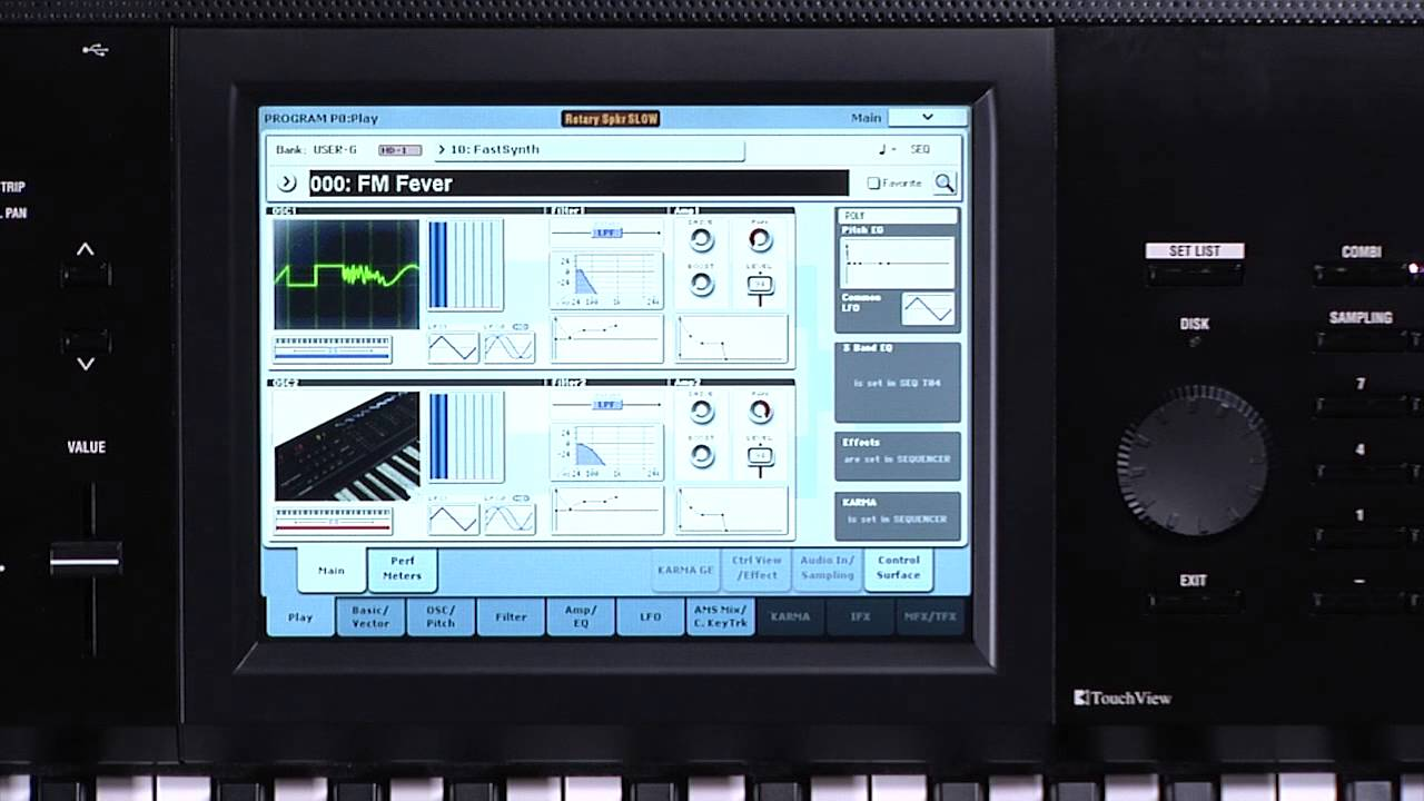 The New Korg Kronos Video Manual Part 4 Sequencer And