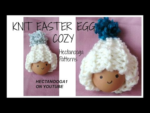 How to  KNIT EASTER EGG COZY HATS, Free knitting pattern # 1153