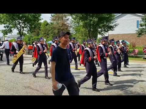 Septemberfest Parade 2018 - Schaumburg, IL: Conant Marching Band