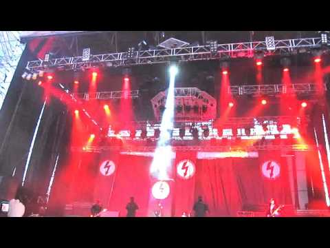Marilyn Manson - Antichrist Superstar - Maquinaria Fest Live in Santiago Chile 2012 HD