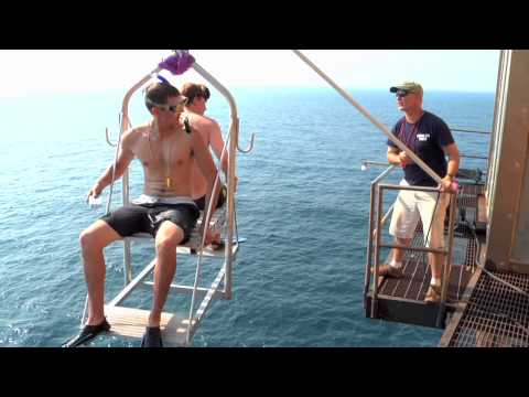 BOY SCOUTS TRIP ON FRYING PAN TOWER