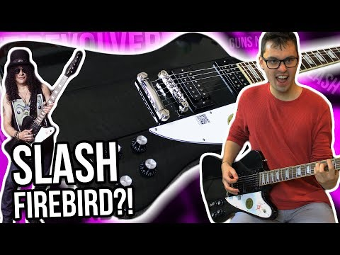 Not a Les Paul?! || Epiphone Slash Firebird Demo/Review