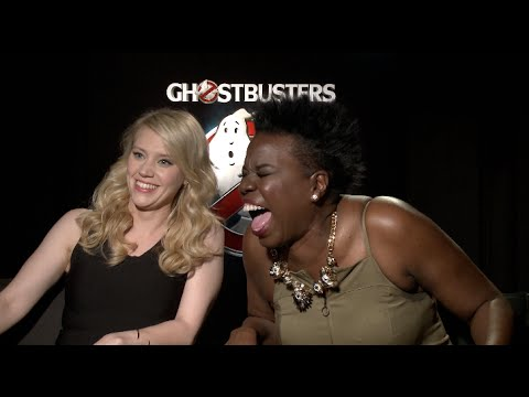 Ghostbusters Interviews - Kate McKinnon, Leslie Jones, Melissa McCarthy, Feig