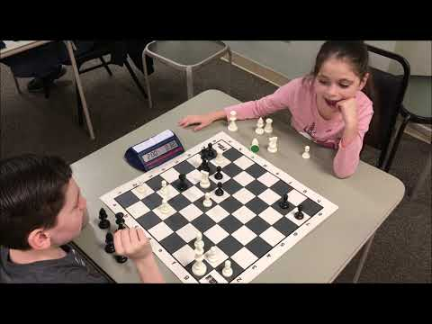 8 Year Old vs 6 Year Old Having Most Fun In Chess! Golan vs Dada