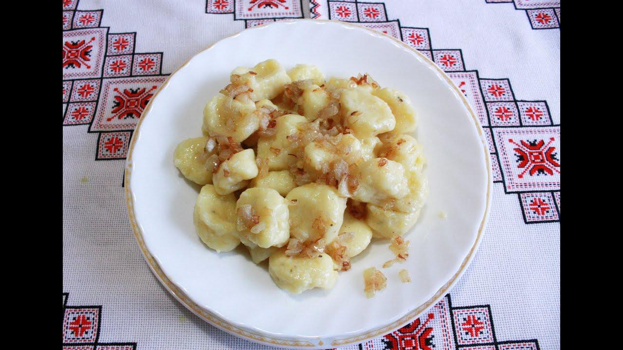 ленивые вареники с картошкойрецепт с фото