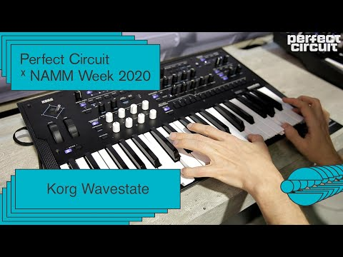 NAMM 2020: Korg Wavestate Sounds