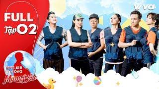 Khi Đàn Ông Mang Bầu | Tập 2 Full HD: Xìn Ri, Song Giang đồng lòng nhường chiến thắng cho Kỳ Vĩ