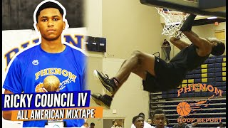 Is Ricky Council IV the Most Underrated Senior in the Hoop State? Phenom's All American Camp Mixtape
