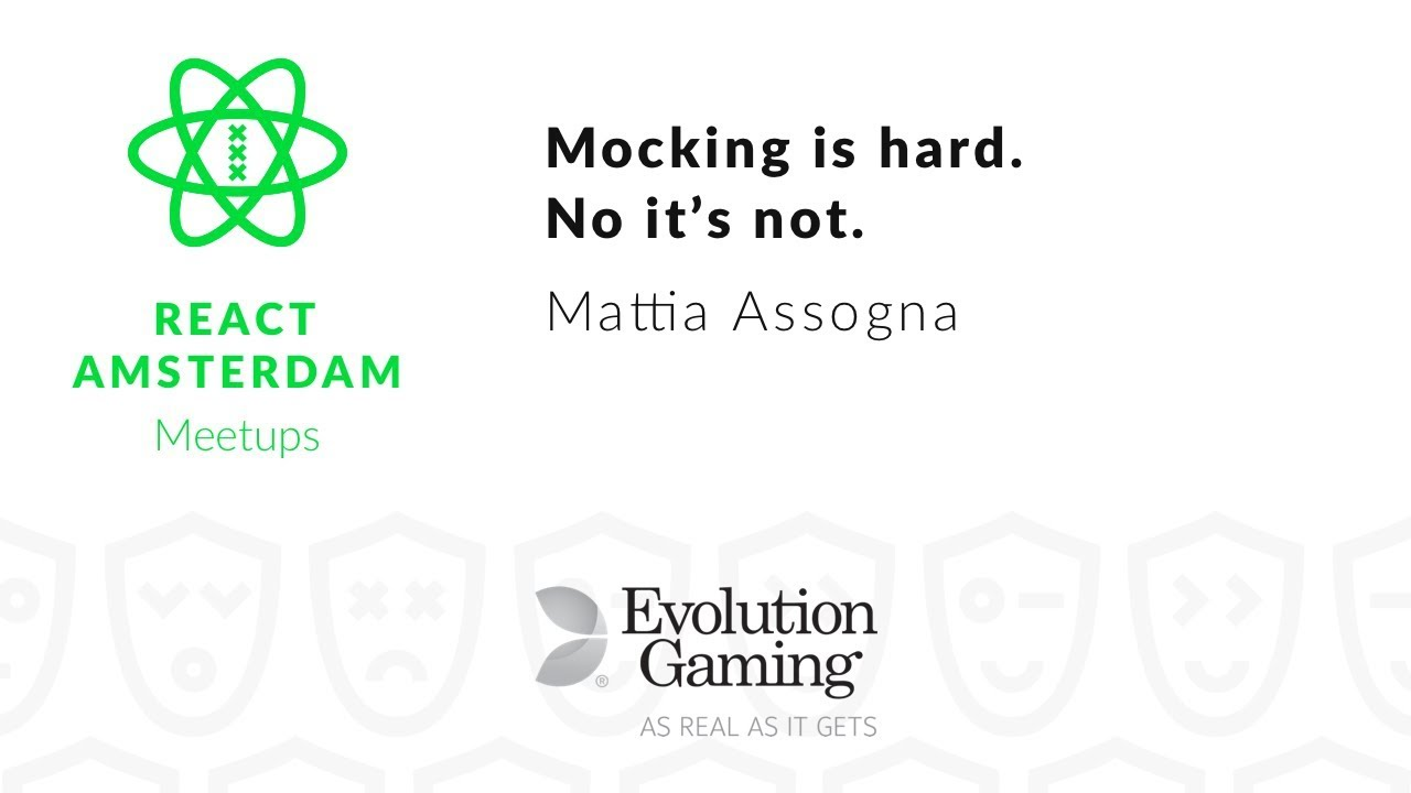 Mocking is hard. No it's not || Mocking like it's 2019 – Mattia Assogna