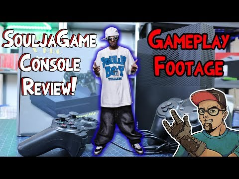 Soulja Boy Console Gameplay Footage & Review! This Is Garbage! The SouljaGame LOL!