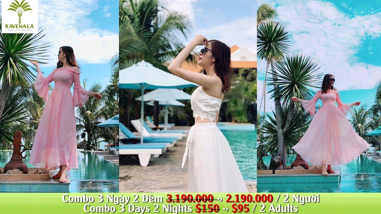 Combo 3N2D 2.190.000 Dành cho hai người tại Ravenala Boutique Resort