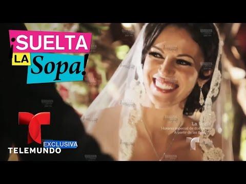 Así fue la boda de Iván y Simona Aguilera | Suelta La Sopa | Entretenimiento