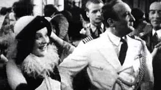 """Anna Sten, Hans Albers. Cenas """"Bomben auf Monte Carlo"""", 1931"""