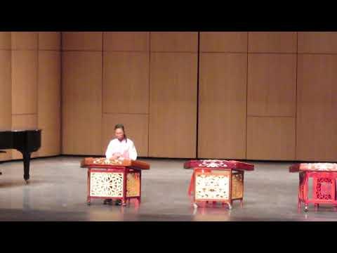 嘉義縣107學年音樂比賽揚琴獨奏國小B組甲等(何如宴)