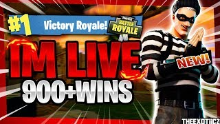 NEW* SCOUNDREL SKIN! TOP PS4 SOLO PLAYER! | 830+ Solo Wins | Fortnite Battle Royale LIVE