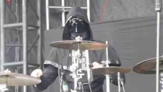 "Rock On The Range 2013 , Ghost BC  ,  pt 3 , ""  Ritual , Monstrance Clock  "" May 19 ,  Columbus Ohio"