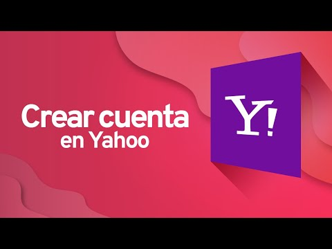 Cómo crear una cuenta en Yahoo | CÓMO CREAR UN CORREO ELECTRÓNICO