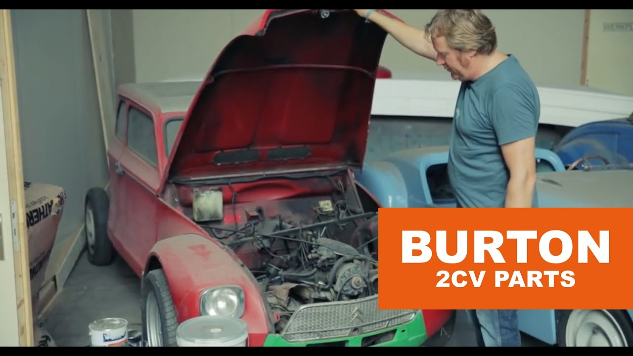 I just wanted to build a nice car\' Dimitri Göbel - Burton 2CV Parts ...