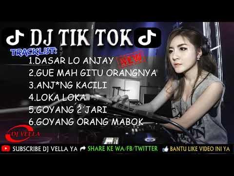 DJ DASAR LO ANJAY    LAGU TIK TOK TERBARU REMIX 2018