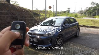 Kia Rio Sights & Sounds