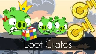 bad piggies hidden crates hidden loot crates day 9